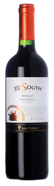 35 SOUTH MERLOT 75CL