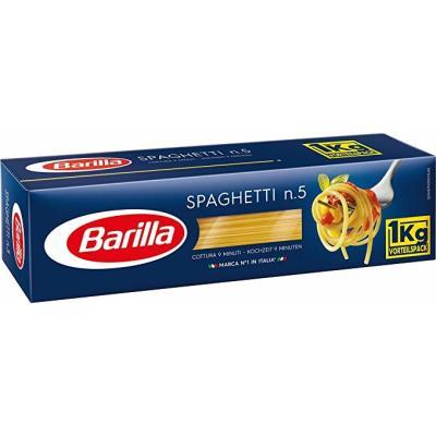 BARILLA SPAGHETTI N5 1KG BOX