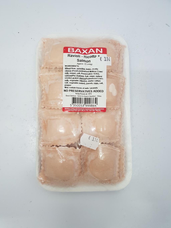 BAXAN SALMON RAVIOLI X24