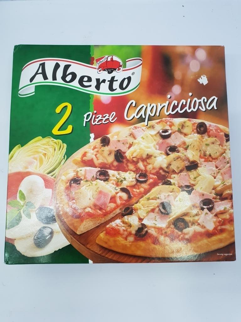 ALBERTO PIZZA CAPRICIOSA 2X395G
