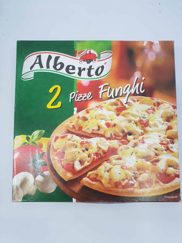 ALBERTO PIZZA FUNGHI X 2 640G