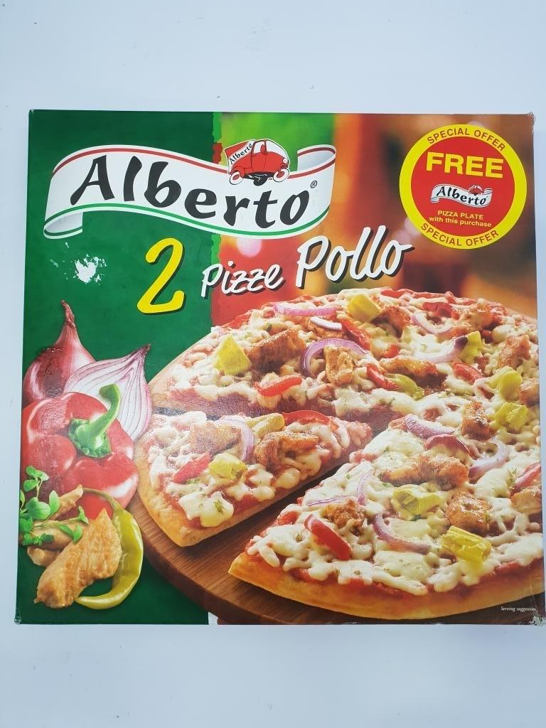 ALBERTO PIZZA POLLO TP TRAD 2X395G